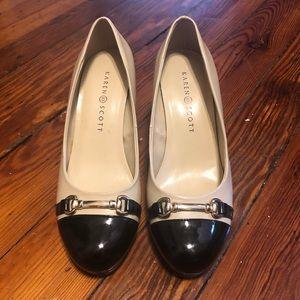 Classic Black and Tan Heels